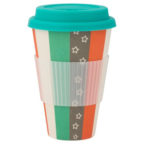 Bambusbecher Bamboo Star-Fantasy 400 - Stripes